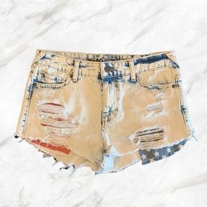 Mossimo | High Rise Bleached Short Shorts